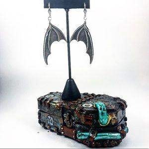 LARGE Halloween Bat Wings